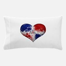 Dominican Heart Pillow Case