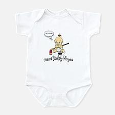 Future Hockey Player Pink Infant Bodysuit