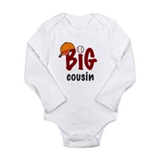 Big Cousin - Baseball Body Suit