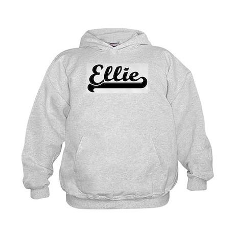 Black jersey: Ellie Kids Hoodie