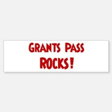 Grants Pass Rocks Bumper Bumper Bumper Sticker