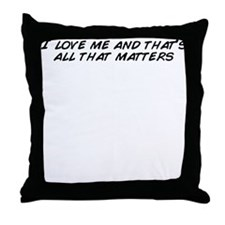 Funny All matter Throw Pillow