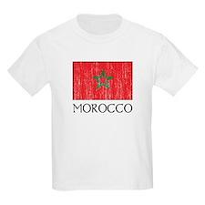 Morocco Flag Kids T-Shirt