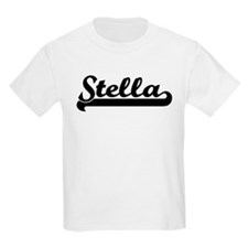 Black jersey: Stella Kids T-Shirt