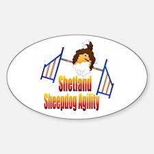 Shetland Sheepdog Agility Decal