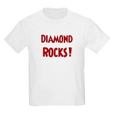 Diamond Rocks Kids T-Shirt