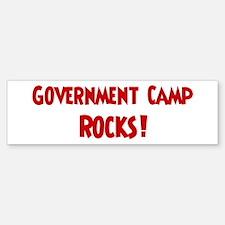 Government Camp Rocks Bumper Bumper Bumper Sticker