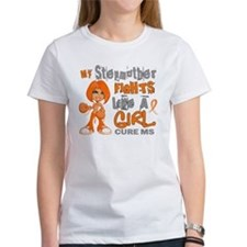 Fights Like a Girl 42.9 MS Tee