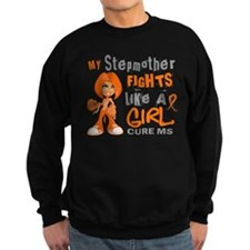 Fights Like a Girl 42.9 MS Sweatshirt