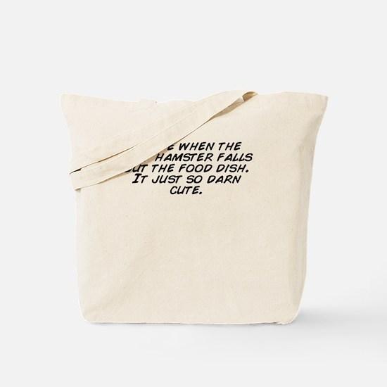 Unique Darn Tote Bag