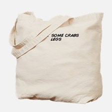 Unique Crab legs Tote Bag