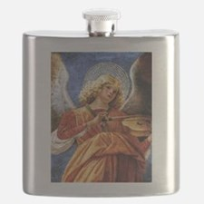 Melozzo Music Making Angel Flask