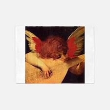 Musician Angel 5'x7'Area Rug