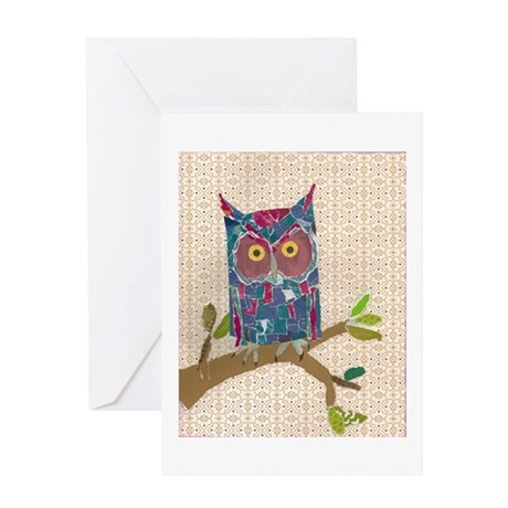 Avery Owl Greeting Card