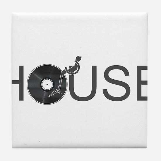 House Music Tile Coaster