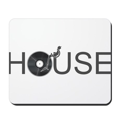house music mousepad by kyandii
