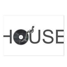 House Music Postcards (Package of 8)