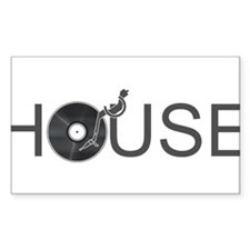 House Music Decal