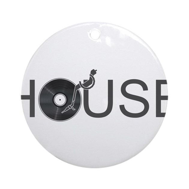 House music ornament round by kyandii for House music 90