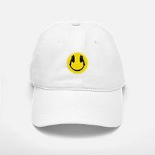 Headphone Smiley Face Baseball Baseball Cap