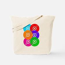 Colored Vinyl Tote Bag