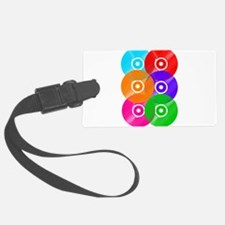Colored Vinyl Luggage Tag