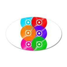 Colored Vinyl Wall Decal