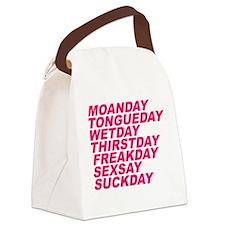 Sex Week Canvas Lunch Bag
