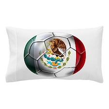 Mexican Soccer Ball Pillow Case