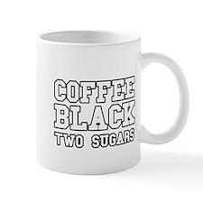 Coffee Black Two Sugars Mug