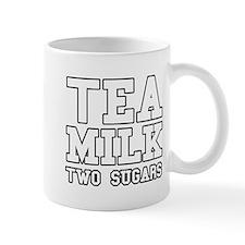 Tea Milk Two Sugars Mug