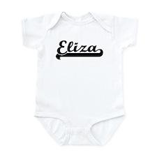 Black jersey: Eliza Infant Bodysuit