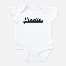 Black jersey: Lizette Infant Bodysuit