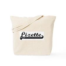 Black jersey: Lizette Tote Bag