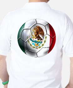 Mexican Futbol Golf Shirt