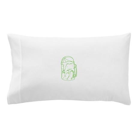 Green Beer Basketball Pillow Case