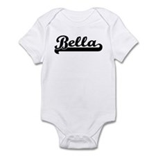 Black jersey: Bella Infant Bodysuit