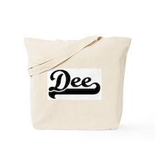Black jersey: Dee Tote Bag