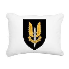 SASR badge Rectangular Canvas Pillow