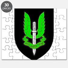 SASR badge e7 Puzzle