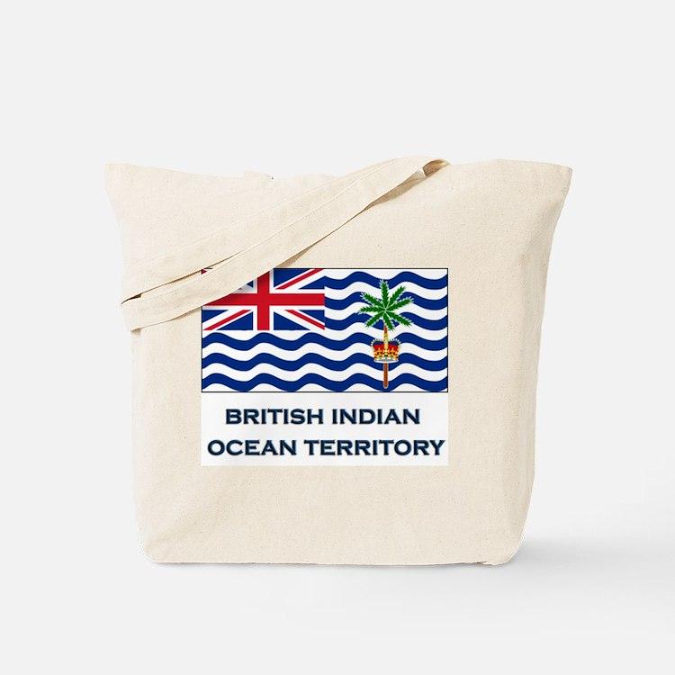 The British Indian Ocean Territory Flag Gear Tote