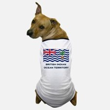 The British Indian Ocean Territory Flag Gear Dog T