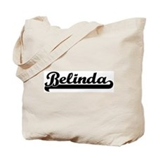 Black jersey: Belinda Tote Bag
