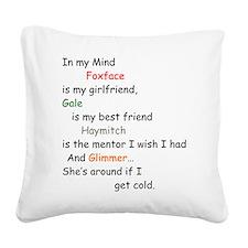 Cute District 5 hungergamesmovie Square Canvas Pillow