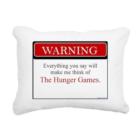 Everything Said...HG Rectangular Canvas Pillow