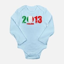 italien 2013 Long Sleeve Infant Bodysuit