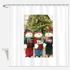 Did You Say Snowball Fight? Shower Curtain