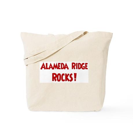 Alameda Ridge Rocks Tote Bag
