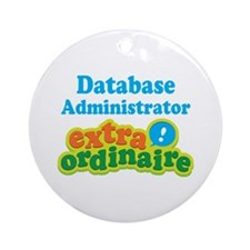 Database Administrator Extraordinaire Ornament (Ro