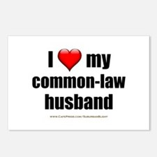 """Love Common-Law Husband"" Postcards (Package of 8)"